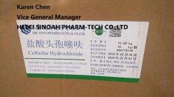 Pharmazeutischer Rohstoff Ceftiofur VeterinärhCl CAS: 103980-44-5