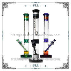 Rechte Buis 18 Duim 7mm van Phoenix de dik Grote Kleurrijke Rokende Waterpijp van het Glas
