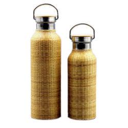 Nice Portable 750ml bambou Thermos pour couvrir le commerce de gros