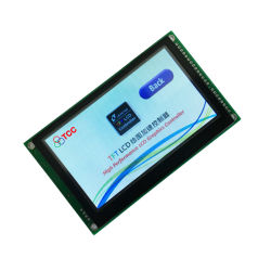 4.3 industrielles intelligentes Konfigurations-Panel Spi des Zoll-480X272 SerienTouch Screen TFT LCD magnetkardiogramm-HMI