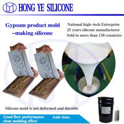 RTV2 для литья под давлением силиконового каучука для гипса гипс пресс-формы