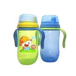 Tazze di Sippy di transizione delle bottiglie di acqua di addestramento del bambino con il becco molle