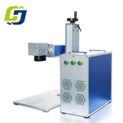 лазерная установка предохранительного устройства Fibre лазерной маркировки мастер для настольных ПК машины для металлические украшения подшипник