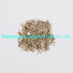 Matrice Soilless Golden et de la vermiculite Expaned argenté