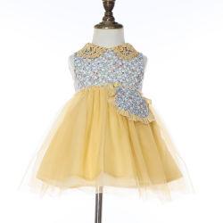 2020 Form-Kinder, die Sommer-Kind-Kleidung-Kittel-Entwurfs-Blumen-Mädchen-Kleid-Partei-Kleider kleiden