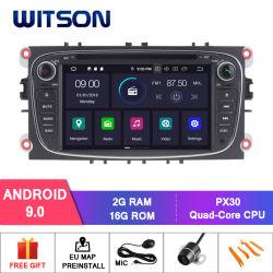 Witson Android 9.0 Car видео плеер для Ford Mondeo фокус S-Max C-Max Galaxy аудиосистемы автомобиля мультимедийной системы GPS