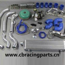 Производительность алюминиевый радиатор для гонок Mitsubishi Lancer Evo 4/5/6 радиатора автомобиля 97-00