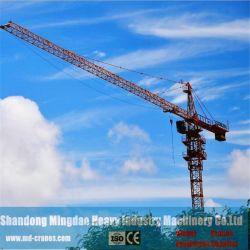 На строительной площадке используется Qtz400 Скалолазание башни крана