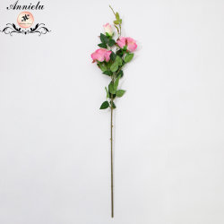 絹のローズによっては結婚の毎日のローズの花の人工花が開花する