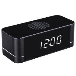 Wc005XK Nouveau Réveil Ultra HD Mini caméra IP WiFi Sup Talk back Version nuit d'enregistrement de charge