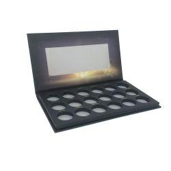 Paleta de sombra de ojos de papel vacío de papel de embalaje Caja de regalo