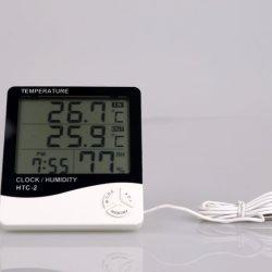 큰 위원회 온도 및 습도 온도계