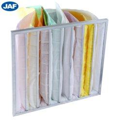 De fibra sintética de eficacia media bolsa de aire acondicionado