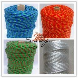 De Nylon Nylon Streng die met hoge weerstand van de Kabel van de Polyester Gevlechte Streng, de Kabel van 12 Bundel staren