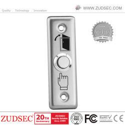 La salida de la puerta de empujar suelte el botón interruptor de bloqueo eléctrico de control de acceso a la huelga el botón de pánico