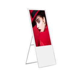 Pantalla LCD de pantalla interior Advestising permanente de señalización digital Portable Media Player