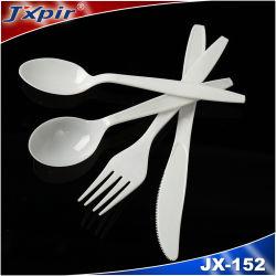 Vendre à chaud de gros de la poignée en plastique de la Coutellerie / fibre de bambou la vaisselle de table