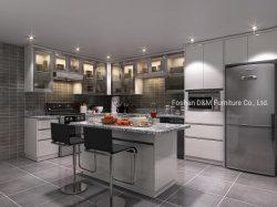 Haute brillance Maison moderne en bois massif de la laque (armoires de cuisine modulaire DM1016)