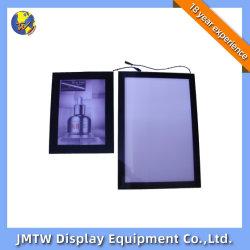 Магнитная алюминиевая рама акриловый Super светодиодный индикатор Меню Окно