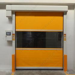 Soft rapide de la porte d'empilage /PVC Porte industriel rapide