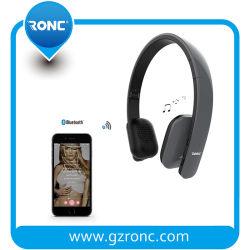Música suave de fone de ouvido sem fio Bluetooth