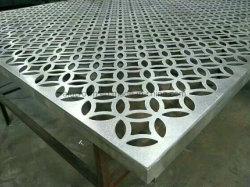 Резки с ЧПУ алюминиевых панелей отверстия из резного металла