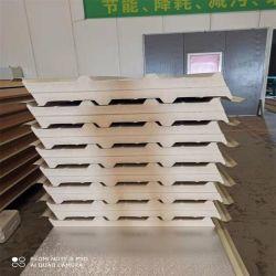 壁および屋根ふきのための建築材PU/PUR/PIRサンドイッチパネル