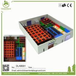Yongjiaの大きい専門の屋内トランポリン公園装置PPの網