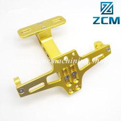 Fabricante Shenzhen CNC de alta calidad girando el mecanizado de precisión de aluminio Custom motocicleta Controles de pie
