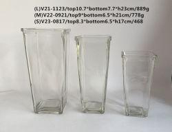 Maschinell hergestellter freier Würfel-Glasflaschenglas-Vase
