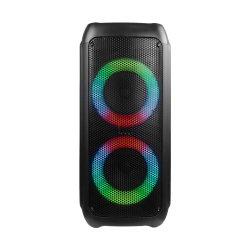 A JBL Style Dupla Luz Giratória 6 pol de colunas portáteis Bluetooth sem fio caixa Parte Jbl Partybox