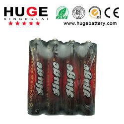 Libre de mercurio de 1.5V AAA batería seca zinc-carbono R03p