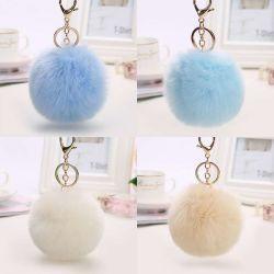 Nuevo diseño de pieles sintéticas Pompom pequeño Pom Pom Fur Ball