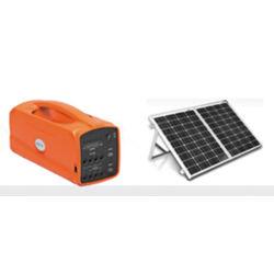 Petit portable complète du système d'énergie électrique de stockage PV autonome d'alimentation solaire hors réseau