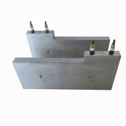 Placa de alumínio de fundição aquecedor para máquina de vulcanização da Correia