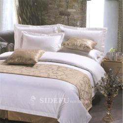 中国の有名なホテルの製造者OEMのサテンのシーツの寝具セット