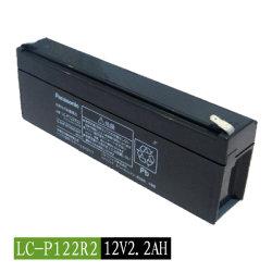 De originele Accu van de Batterij lC-P122r2 12V 2.2ah van Panasonic Lead-Acid