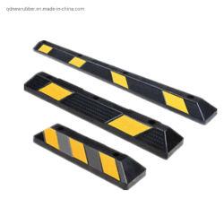 Duurzame gele gestreepte parkeerplaatsen parkeerplaats stoeprand/blokken Garage Rubber Wielaanslagen