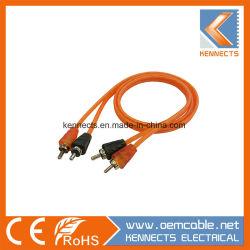 Ke R27 cabo RCA cabo áudio OFC de alto desempenho