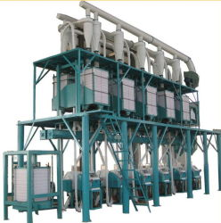 Africa mercato Maize Flour granite a rulli Mill Milling Machine Attrezzatura