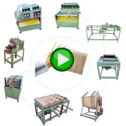 منتجات الخيزران الصينية خط إنتاج المسواك لصناعة مسواك الأسنان