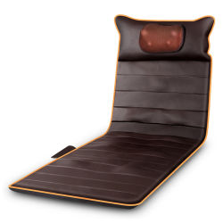 Masseur coussin corporel complet électrique cou jambe lombaire matelas de massage vibrant avec chauffage