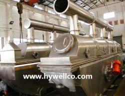 Vibration de la pharmaceutique et alimentaire personnalisé lit de séchage de liquide de la machine/ déshydrateur/sécheur de la machine