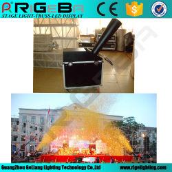 Efecto de la etapa el equipo Rainbow Máquina de confeti