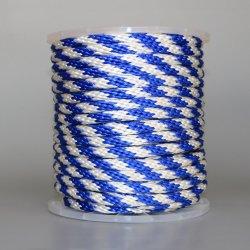 Синий для тяжелого режима работы 8 мм 9 мм 12 мм 12 ветви 20 ветви PP сплошной металлической оплетки веревки