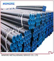 Tubo de aço carbono sem costura ASTM A106API/b5l/API5CT/ASME 36,10, extremidades fêmea, Material Structral