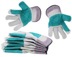 De hete Verkopende Handschoenen van de Lasser van mig TIG van de Veiligheid van het Leer van de Arbeid Arbeider Gebruikte Lassende