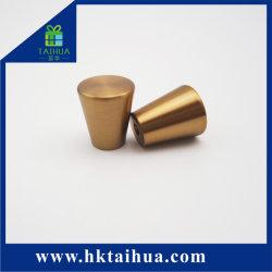 Venda por grosso de mobiliário de Ouro Clássico, botão de puxador de gabinete de liga de zinco