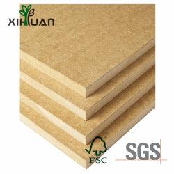 Panel de pared de madera contrachapada muebles HDF MDF Material HDF Precio de la puerta