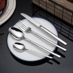 304 스테인리스 스틸 날붙이 금속 서양식 식기류